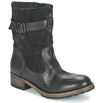 Topánky Ženy Polokozačky Pataugas DECK Čierna
