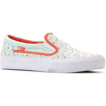 Topánky Ženy Slip-on DC Shoes Trase Slipon SP Pastelová zelená
