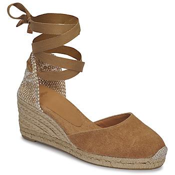 Topánky Ženy Sandále Castaner CARINA Ťavia hnedá