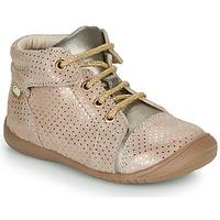 Topánky Dievčatá Polokozačky GBB OLSA Béžová