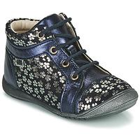 Topánky Dievčatá Polokozačky GBB OMANE Modrá