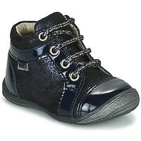 Topánky Dievčatá Členkové tenisky GBB OMANE Modrá