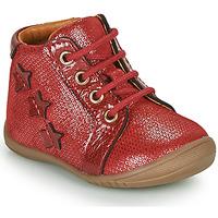 Topánky Dievčatá Polokozačky GBB DAVIA Červená