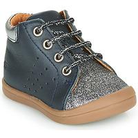 Topánky Dievčatá Polokozačky GBB NAHIA Modrá