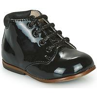 Topánky Dievčatá Polokozačky GBB TACOMA Čierna
