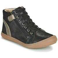 Topánky Dievčatá Členkové tenisky GBB RACHIDA Čierna