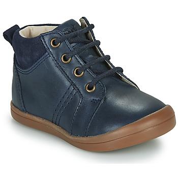 Topánky Chlapci Polokozačky GBB NILS Modrá