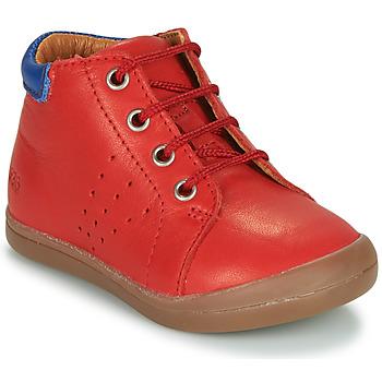 Topánky Chlapci Polokozačky GBB TIDO Červená
