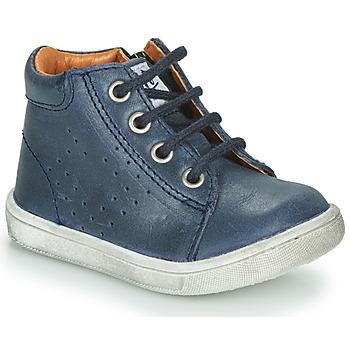 Topánky Chlapci Polokozačky GBB FOLLIO Modrá