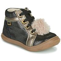 Topánky Dievčatá Členkové tenisky GBB ISAURE Čierna
