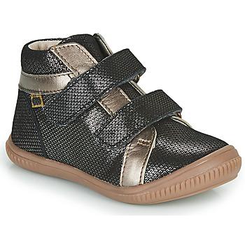 Topánky Dievčatá Členkové tenisky GBB EDEA Čierna