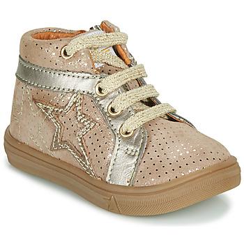 Topánky Dievčatá Členkové tenisky GBB NAVETTE Béžová
