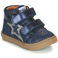 Topánky Dievčatá Členkové tenisky GBB OHANE Modrá