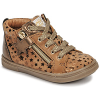 Topánky Dievčatá Členkové tenisky GBB VALA Hnedá