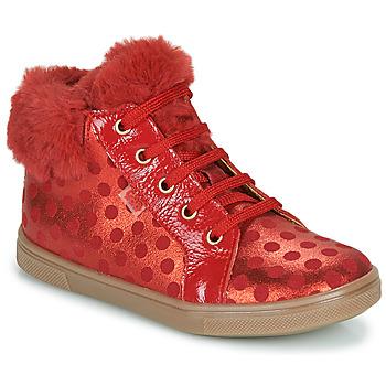 Topánky Dievčatá Členkové tenisky GBB JUNA Červená