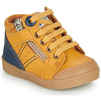 Topánky Chlapci Členkové tenisky GBB ANATOLE Žltá