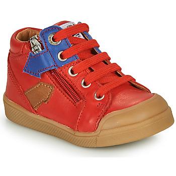Topánky Chlapci Členkové tenisky GBB IONNIS Červená