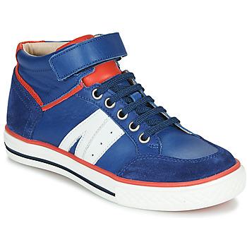 Topánky Chlapci Členkové tenisky GBB ALIMO Modrá