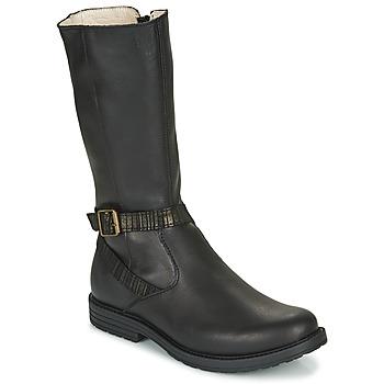 Topánky Dievčatá Čižmy do mesta GBB OKINDI Čierna