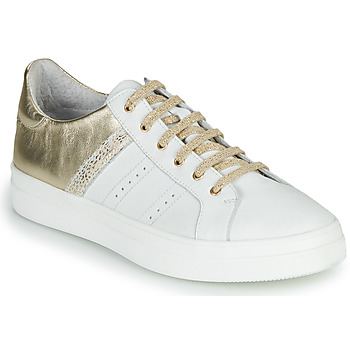 Topánky Dievčatá Nízke tenisky GBB DANINA Biela / Zlatá