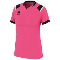 Oblečenie Ženy Tričká s krátkym rukávom Errea Maillot femme  lenny vert/noir/blanc