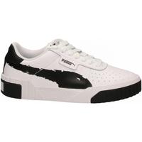 Topánky Ženy Fitness Puma CALI BRUSHED WN'S black--white