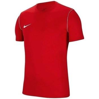 Oblečenie Muži Tričká s krátkym rukávom Nike Park 20 Červená