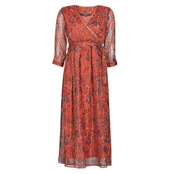 Oblečenie Ženy Dlhé šaty Vero Moda VMGLAMMY Červená