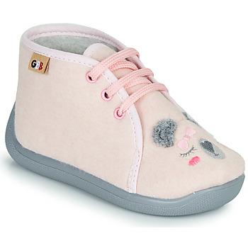 Topánky Dievčatá Papuče GBB CHARIE Ružová