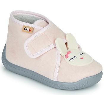 Topánky Dievčatá Papuče GBB HELORIE Ružová