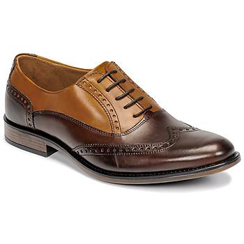 Topánky Muži Richelieu André BIBRIDGE Hnedá