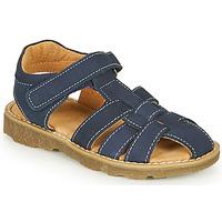 Topánky Chlapci Sandále André TURTLE Námornícka modrá