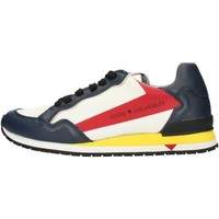 Topánky Muži Nízke tenisky Guess FM6GENFAB12 Blue white red and yellow