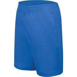Oblečenie Deti Šortky a bermudy Proact Short enfant Jersey  Sport bleu marine