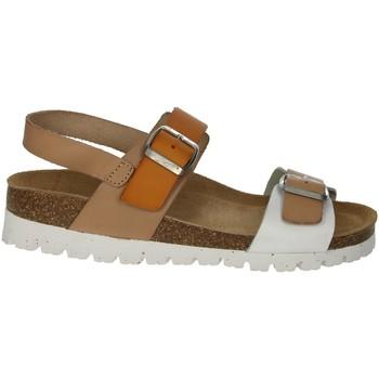 Topánky Ženy Sandále Riposella C129 Beige/White