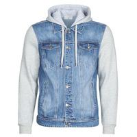 Oblečenie Muži Džínsové bundy Casual Attitude LAURYNE Modrá / Medium