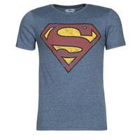 Oblečenie Muži Tričká s krátkym rukávom Yurban SUPERMAN LOGO VINTAGE Námornícka modrá