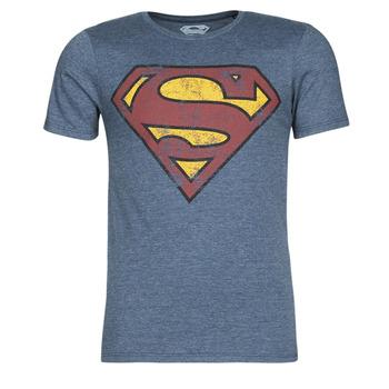 Oblečenie Muži Tričká s krátkym rukávom Casual Attitude SUPERMAN LOGO VINTAGE Námornícka modrá