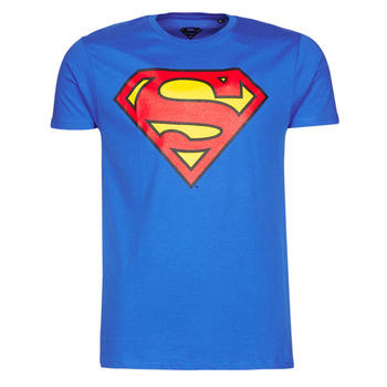 Oblečenie Muži Tričká s krátkym rukávom Yurban SUPERMAN LOGO CLASSIC Modrá