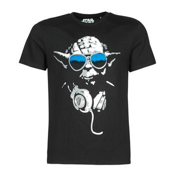 Oblečenie Muži Tričká s krátkym rukávom Yurban DJ YODA COOL Čierna