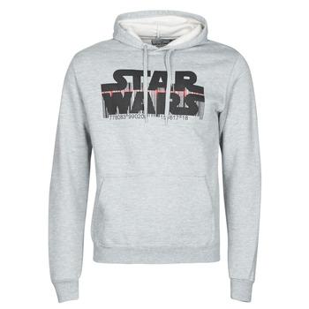 Oblečenie Muži Mikiny Casual Attitude Star Wars Bar Code Šedá
