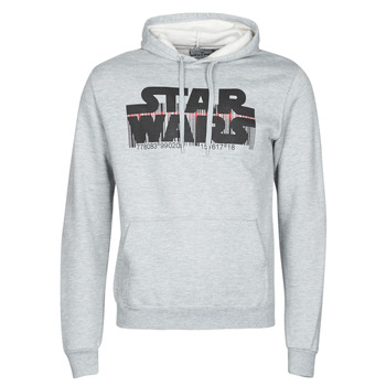 Oblečenie Muži Mikiny Yurban Star Wars Bar Code Šedá