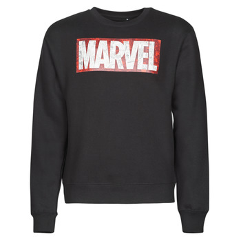 Oblečenie Muži Mikiny Casual Attitude MARVEL MAGAZINE CREW Čierna