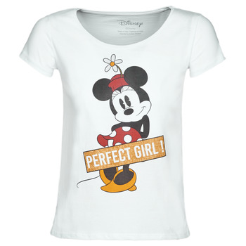 Oblečenie Ženy Tričká s krátkym rukávom Moony Mood MINNIE PERFECT GIRL Biela