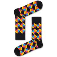 Textilné doplnky Muži Ponožky Happy Socks Optiq square sock Viacfarebná
