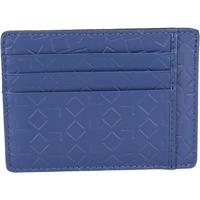 Tašky Muži Peňaženky Alviero Martini portafoglio porta carta di credito ALV blu pelle BN201-S Blu