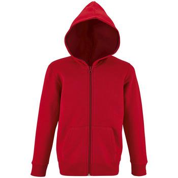 Oblečenie Deti Mikiny Sols STONE COLORS KIDS Rojo