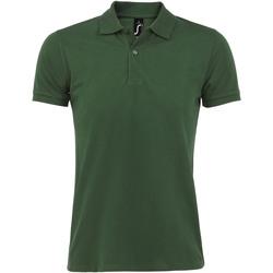 Oblečenie Muži Polokošele s krátkym rukávom Sols PERFECT COLORS MEN Verde
