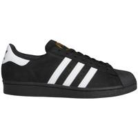 Topánky Muži Skate obuv adidas Originals Superstar adv Čierna