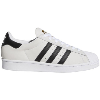 Topánky Muži Skate obuv adidas Originals Superstar adv Biela
